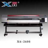 Impresión industrial X6-2600 de la inyección de tinta de la cabeza de impresión de Xuli los 2.6m 2PC Dx5