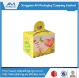 Cake Embalagem Caixas Containers Samll Cupcake Paper Box Carton with Handle