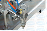 Cabezal único neumático horizontal Semiautomática Máquina de Llenado de líquido