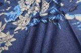 tissu de jeans de sac de chemise du denim 4oz estampé par 100%Cotton