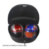 2つのヘルメットのための大きいオートバイの荷物のテールボックス
