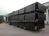 De China de cargo del transporte de la estaca acoplado semi