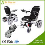 Silberner behinderter im Freiensport schielt Rollstuhl für ältere Personen an