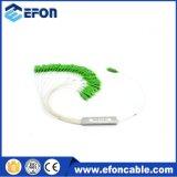 Steel Tube Mini 1 * 2 Optical PLC Splitter Price
