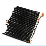 Outils de maquillage en bois 20PCS Eye Shadow Makeup Brush