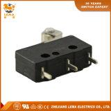 Lema noir de la borne de connexion rapide PCB droite Kw12-2s Micro contacteur