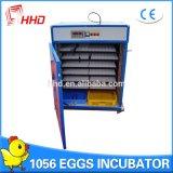 Hhd 판매 (YZITE-10)를 위한 자동적인 상업적인 닭 계란 부화기