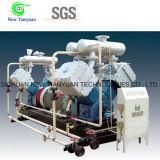 Alto compresor de gas del pistón del control automático