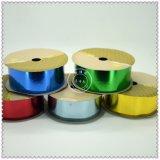 Maunfacture plástico Rollo de cinta de opciones de colores iridiscentes, rollos de cinta de plástico