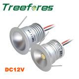 1W IP65 25mm LED 천장 빛 방수 LED 점화