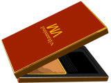 Base de papel y caja de paquete de ala de tapa con mango
