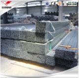 25X50, 38X38, 65X65, tubo vuoto quadrato galvanizzato 200X200mm 75X75mmto