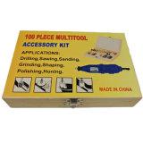 Woodbox 패킹 100PC Multitool 부속품 세트