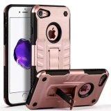 Caso da pilha híbrida de Shochproof/telefone móvel para o iPhone 6s/6s mais 7/7plus com suporte de Stander