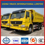 양호한 상태 아프리카를 위한 이용된 HOWO 10 바퀴 무거운 덤프 트럭 팁 주는 사람 6X4