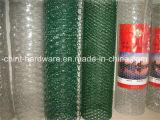 Galvanisierter Eisen-sechseckiger Maschendraht/Draht-Filetarbeit