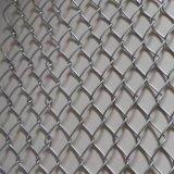 電流を通された/PVCの上塗を施してあるチェーン・リンクの塀