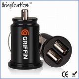 Port USB double chargeur de voiture populaire 5V 3.1A (XH-UC-004)