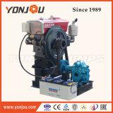 La transferencia horizontal de lubricación de la bomba de engranajes giratorios