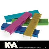 Farbige Büro-Heftklammern für Schule