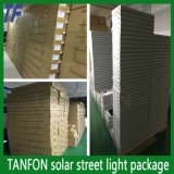 20W, 25W, 30W 의 40W 태양 가로등 시스템 (쉬운 installtion, 통합 디자인)