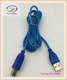 USBケーブル、RCAケーブル、ケーブルAVの、USBのタイプケーブルUSB Bのプラグへのプラグ
