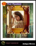 Blocco per grafici della foto di disegno dell'oggetto d'antiquariato di legno solido