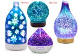 Whosale para 3D Cristal difusor de aroma de Aceite Esencial de aromaterapia
