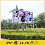 Publicidad exterior LED de gran panel de vídeo