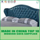Het elegante Bed van het Leer van de Slaapkamer van het Meubilair Zachte
