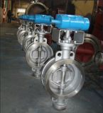 Válvula De Borboleta Pneumática Aço Inoxidável
