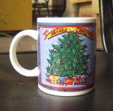 مضحكة [11وز] عيد ميلاد المسيح [كفّ موغ] خزفيّة لأنّ بيتيّة يشرب
