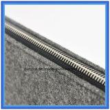 Material Eco-Friendly da forma nova do saco satisfeito da pasta do portátil de feltro de lãs de 70%, saco macio portátil feito sob encomenda do portátil com Zipper