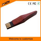 Memoria Flash de madera del USB del modelo nuevo con su insignia