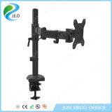 Canalisation verticale de moniteur de bride de bureau de Jeo Yd28c/bras réglables support de moniteur