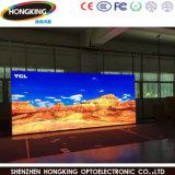 Indicador de diodo emissor de luz de anúncio interno cheio da cor HD P4 para a parede video