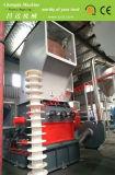 Grosse blaue Zylinder-Zerkleinerungsmaschine