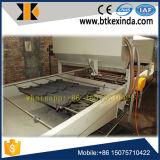 Telha de telhado de aço revestida de pedra que faz a máquina