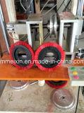 Disco 2 ejes de perforación de un cepillo y una máquina de tufting