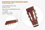 Soem-Fabrik-Preis-akustische Messingmetallkarosserien-Resonator-Gitarre für Verkauf