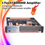 amplificador de potencia profesional de 2X1800W Digitaces I-Tech18000HD