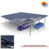 간이 차고 설치 시스템 (GD78)를 위한 새로운 디자인 태양 설치