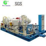 油田で使用される天燃ガスのブスターCNGの圧縮機