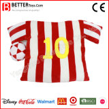Promotion sportive Football Shirt Coussin en peluche pour fan