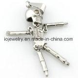 Tegenhanger 316 van het Ontwerp van de Robot van de manier Beweegbare de Juwelen van het Roestvrij staal