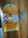 Sac à encoche en PVC rabattu, sac à chaleur thermorétractable en PVC