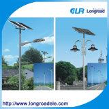 Solarstraßenlaternemit Polen, LED-Solarstraßenlaterne