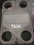Substituir la placa del cambiador de calor de Laval Clip3/Clip6/Clip8/Clip10/Ts6-M/Tl6 /T20-B/ T20-M/T20-P/Ts20-M de la alfa