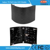 P4mm flexible y suave módulo de pared LED de vídeo con FCC