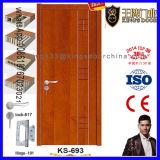 Porte en bois de salle de bains de modèle de l'Inde